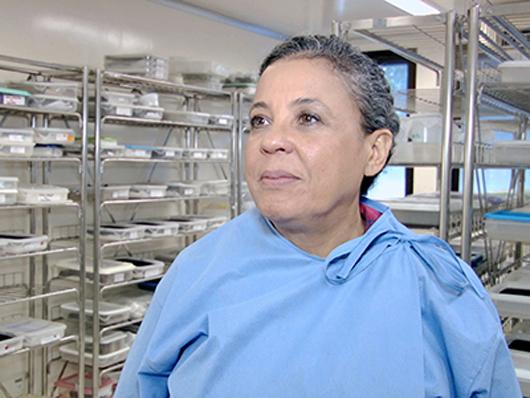 Goreti ressalta que a vacinação é fundamental para prevenir a febre amarela nas áreas com risco de transmissão da doença (foto:Josué Damacena)