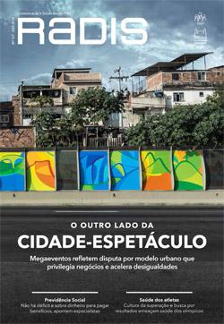 Revista Radis de agosto destaca impacto de grandes eventos no Rio