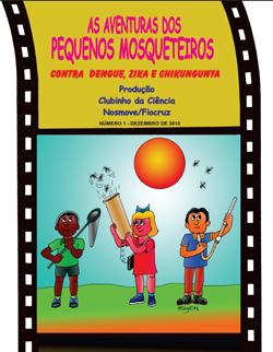 Fiocruz lança cartilha infantil sobre como combater o 'Aedes aegypti'